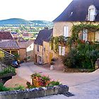 Street in St. Cyprien, France by magicaltrails