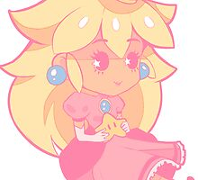Chibi Peach by Battybooo