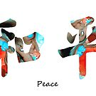 Chinese Symbol - Peace Sign 11 by Sharon Cummings