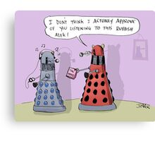 dalek who Canvas Print