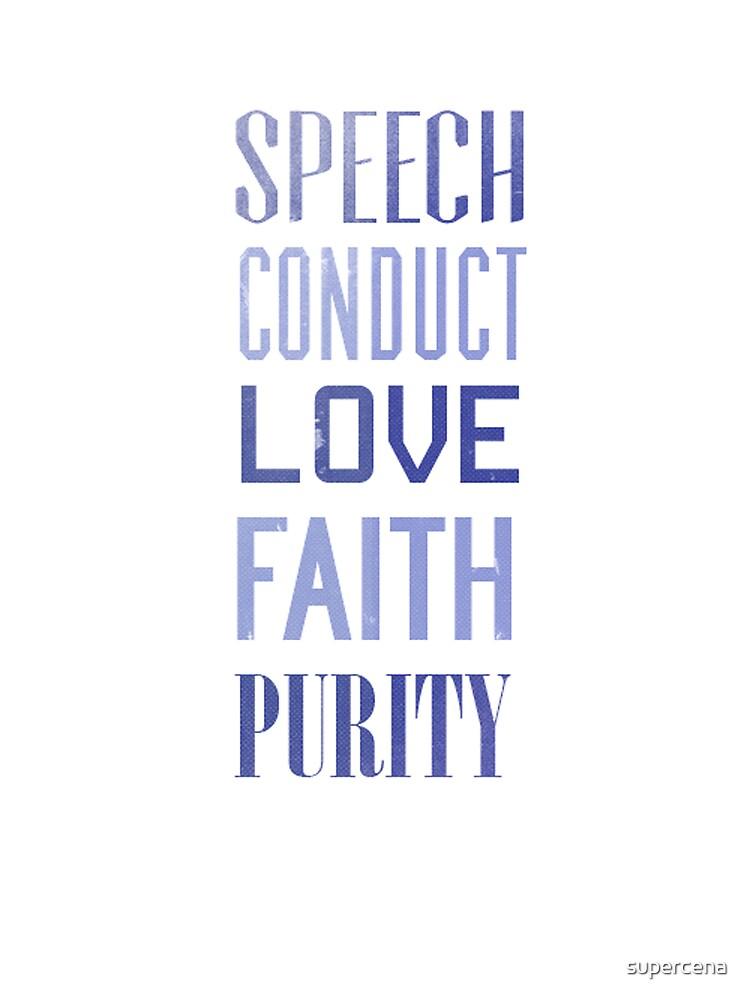 timothy 4:12 by supercena