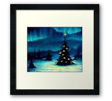 Northern Lights Framed Print