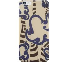 Abstract Ghosts iPhone Case/Skin