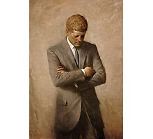 John F. Kennedy Painting  Photographic Print