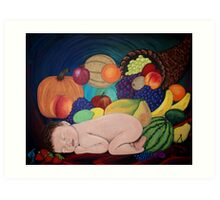 Child Of Plenty Art Print