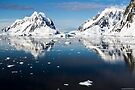 Reflecting on Antarctica 001 by Karl David Hill