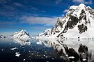 Reflecting on Antarctica 002 by Karl David Hill