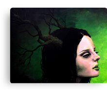 Portrait of Gaia Canvas Print