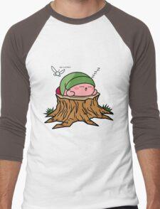 Sleepy Hero of time Men's Baseball ¾ T-Shirt