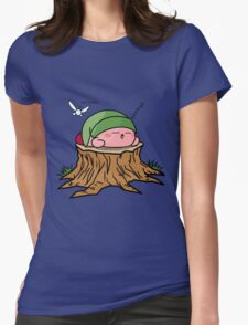 Sleepy Hero of time Womens Fitted T-Shirt
