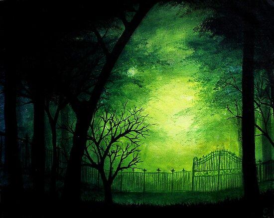Ghastly Gate by Erin Scott