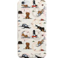Puppy Playtime In For A Treat iPhone Case/Skin