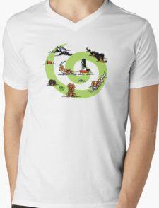 CKCS Playtime Mens V-Neck T-Shirt