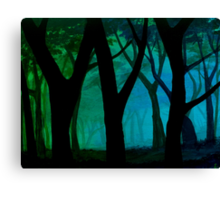 Simple Blues Canvas Print