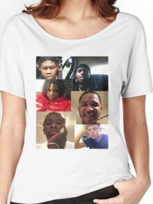 ASAP ROCKY, YOUNG THUG, YUNG LEAN, FREDO SANTANA, YOUNG CHOP, CHIEF KEEF Women's Relaxed Fit T-Shirt