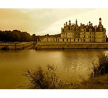 Chambord in Sepia Photographic Print