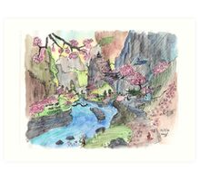 paradise valley Art Print