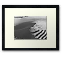 December Sands Framed Print