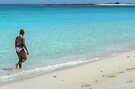 The Lady of the Beach in Paradise Island, The Bahamas by 242Digital