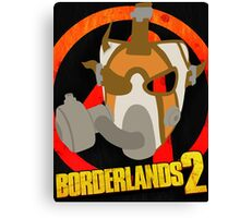 Borderlands 2 poster - Psycho  Canvas Print