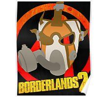 Borderlands 2 poster - Psycho  Poster