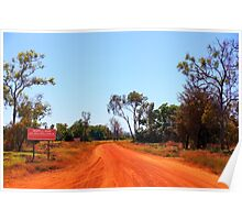 We enter Arnhem Land Poster
