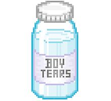 BOY TEARS Photographic Print