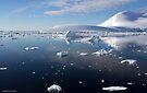 Reflecting on Antarctica 009 by Karl David Hill