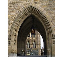 Ottawa Parliament Buildings Archway Photographic Print