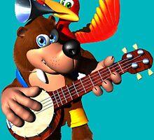 Banjo-Kazooie by ponka64