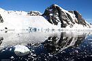 Reflecting on Antarctica 012 by Karl David Hill