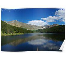 Clinton Gulch Dam Reservoir, Colorado Poster