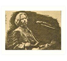 Eric Clapton Art Print