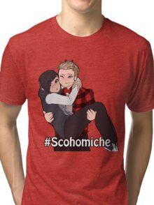 #Schomiche Tri-blend T-Shirt