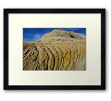 Rock formation near Boulder, Utah Framed Print