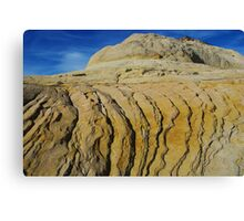 Rock formation near Boulder, Utah Canvas Print