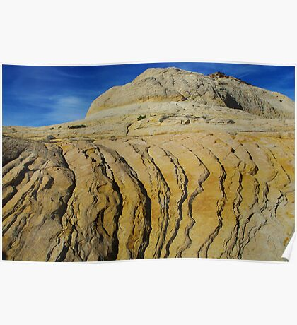 Rock formation near Boulder, Utah Poster