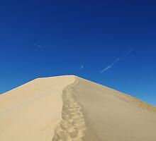 Mojave Desert Dune, California by Claudio Del Luongo