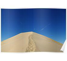 Mojave Desert Dune, California Poster