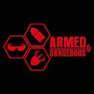 Armed and Dangerous - Prints, Stickers, iPhone &amp; iPad Cases by monochromefrog