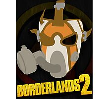 Borderlands 2 poster - Psycho 2 Photographic Print
