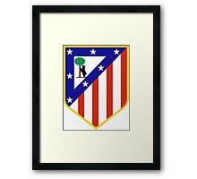 Atlético Madrid Framed Print