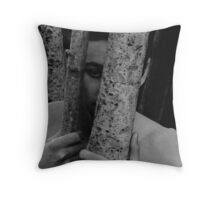 nature of the boy (contemplation)  Throw Pillow