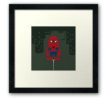 Spideki Framed Print