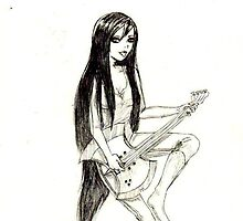 Marceline the Vampire Queen by SweetDizzy