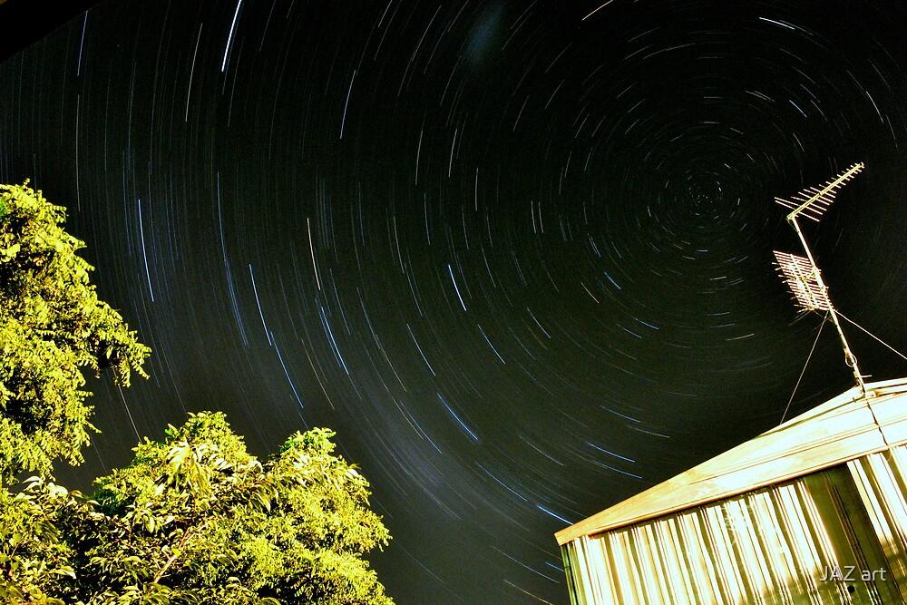 Backyarder star trails by Jarrod Lees