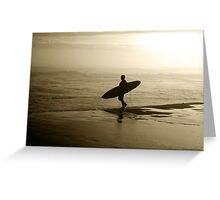 Hows the Surf! Greeting Card