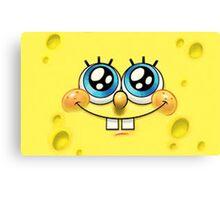 silly spongebob Canvas Print