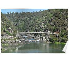Cataract Gorge Suspension Bridge Poster