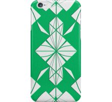 Green & White Perfect Symmetry IPhone Case iPhone Case/Skin